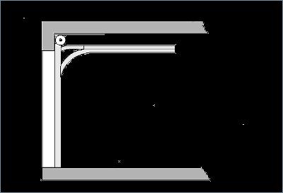 Prowadzenie bramy system RES-200